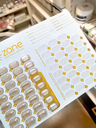 medication packagaing