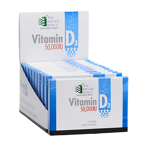 Vitamin D 50,000 Units- Weekly dose (15 Ct.)