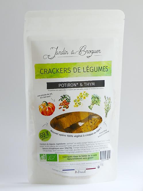 Crackers potiron & thym