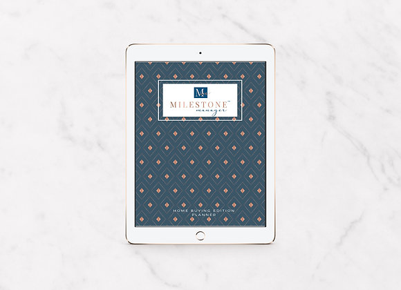 Monthly Budget Planner - Digital Download