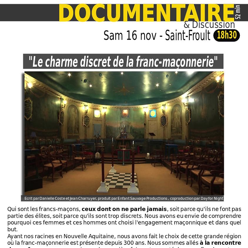 """Soirée documentaire """"Le charme discret de la franc-maçonnerie"""""""