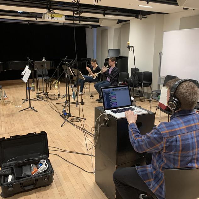 Recording session 2020