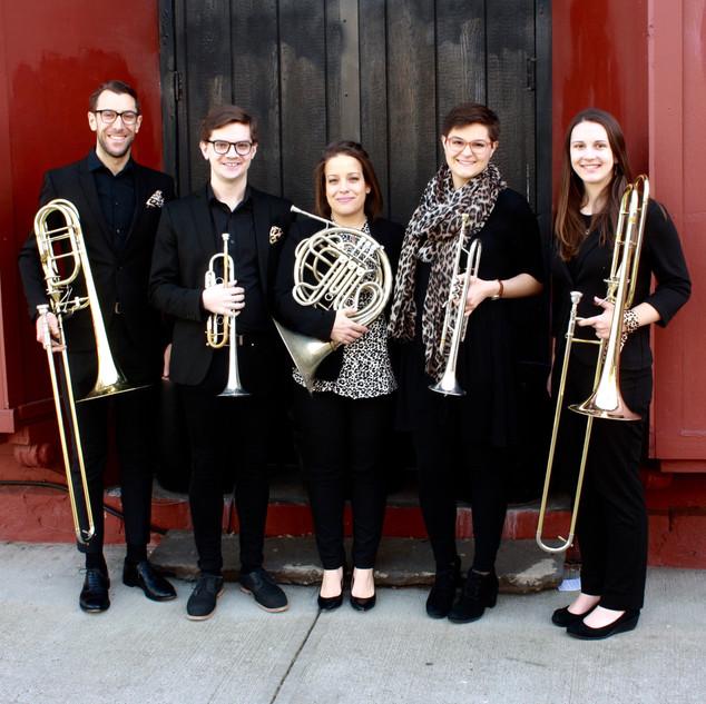 subtle cheetah brass Scholes Street Studio Recital