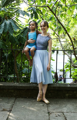 Chloe and Skylar_Ballet Skirts By Lucind