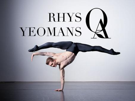 Rhys Antoni Yeomans Q&A
