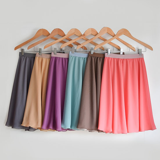 Spring Pastel Collection - Reversible Rehearsal Skirts