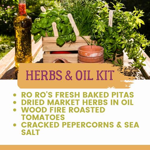 Bread & Herbed Oils