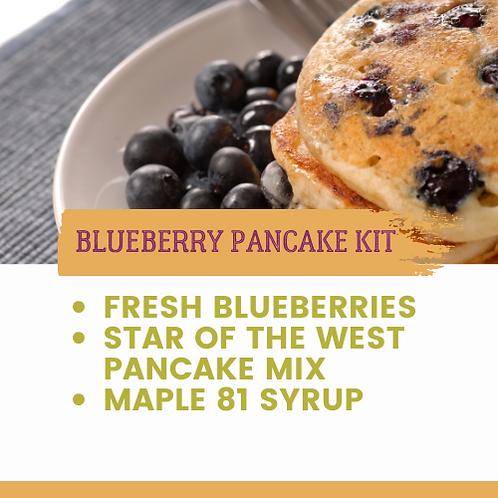 Blueberry Pancake Kit