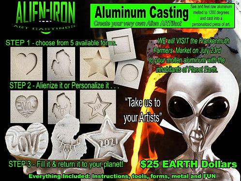 Aluminum Pour Tile