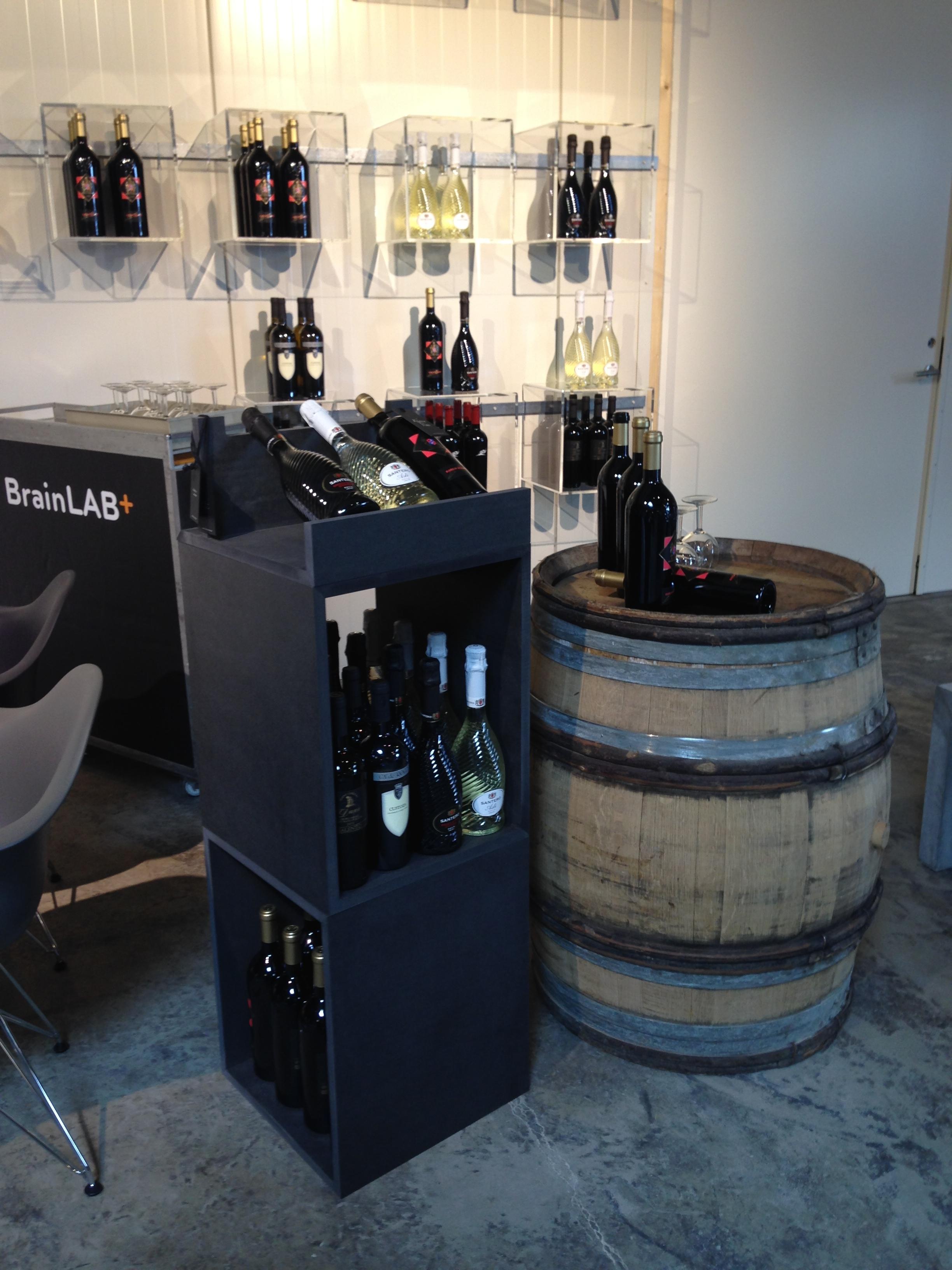 Wine shop in shop