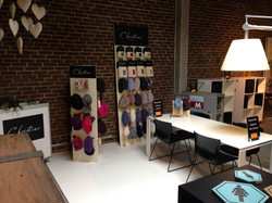 Messestand med Shop in Shops
