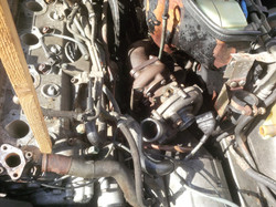 Turbo being removed