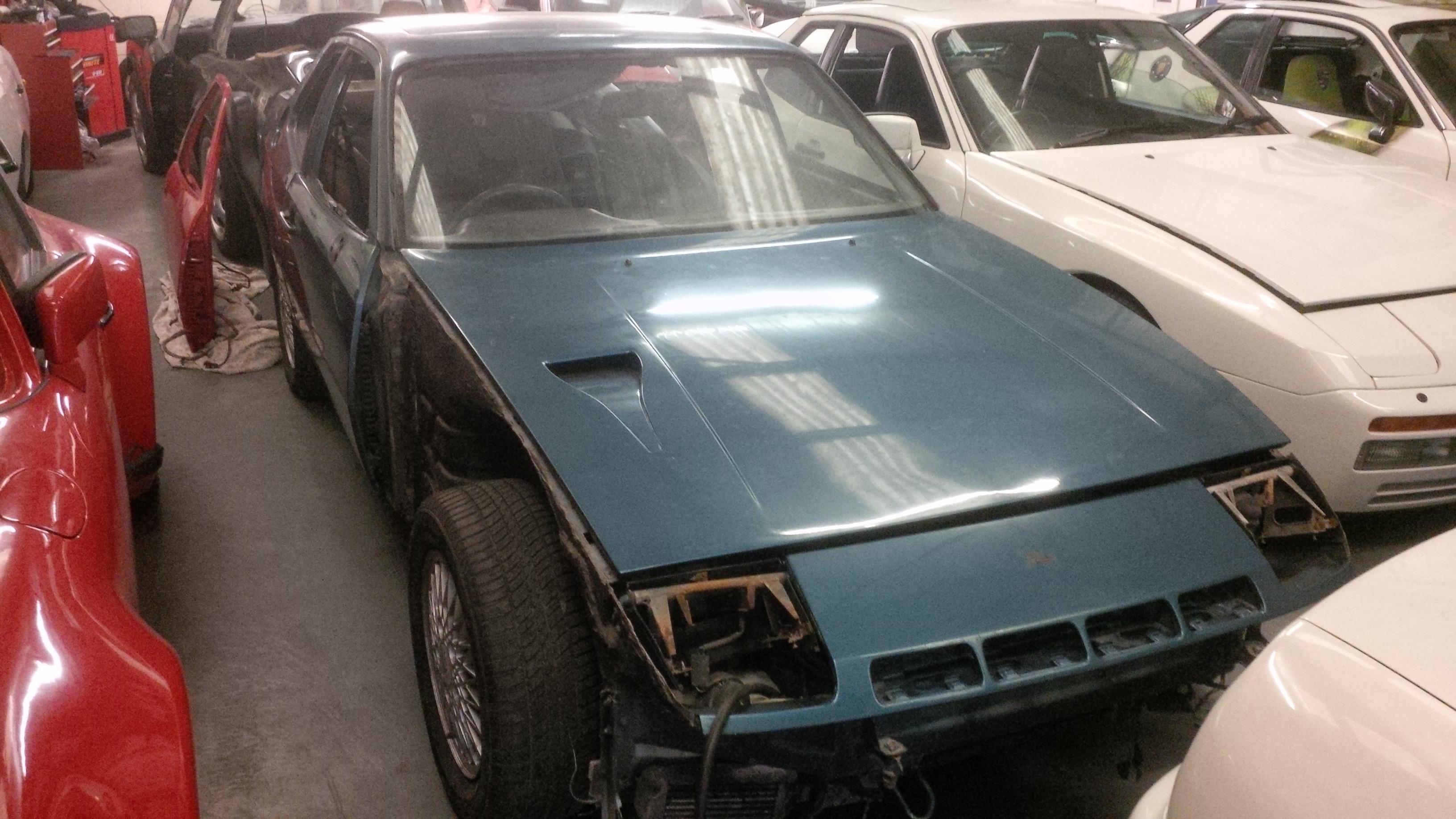 Blue 924 Turbo Restoration