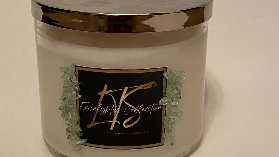 3 - Wick Candle