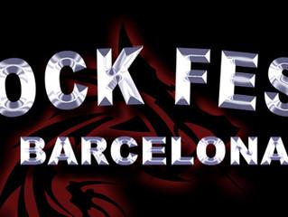 BORN IN EXILE en el ROCK FEST BARCELONA