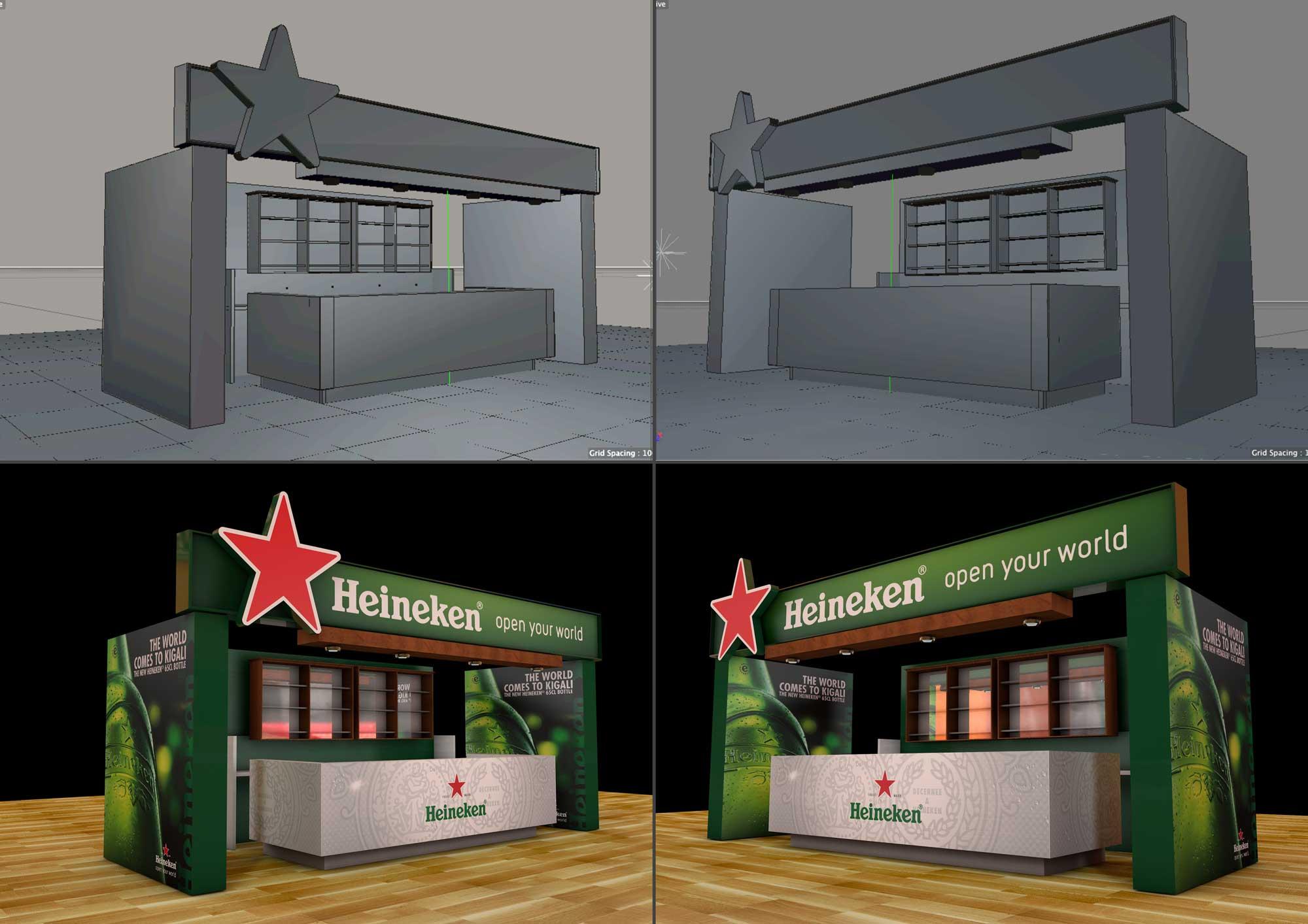 Heikenen Expo Bar 3D Proposal