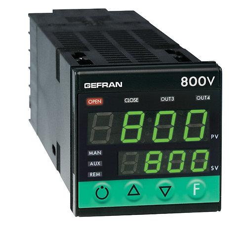 800V Controller for motorized valves, 1/16 DIN