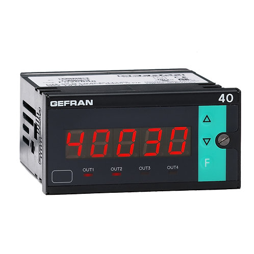 40B96 Indicator/Alarm Unit for force, pressure and position inputs