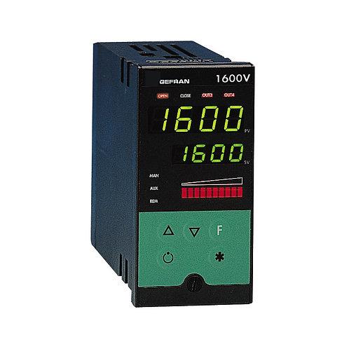 1600-1800 V PID Controller for motorized valves, 1/8 DIN