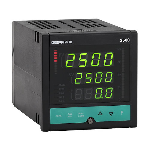 2500 PID Controller Pressure and Force, 1/4 DIN