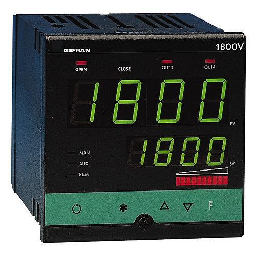 1800P Controller Programmer, 1/4 DIN