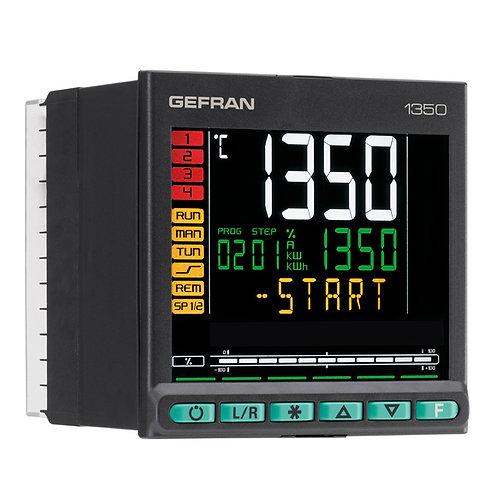 1350 Controller PID, 1/4 DIN