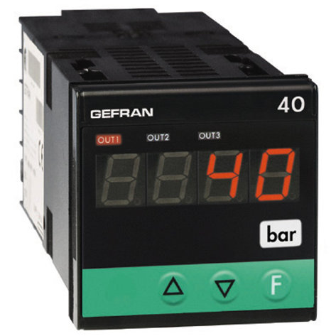 40B48 Indicator/Alarm Unit for force, pressure and position inputs