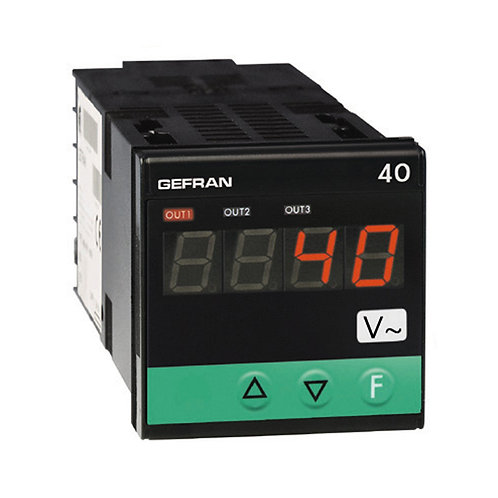 40A48-96 Indicator/Alarm Unit for tension and current inputs