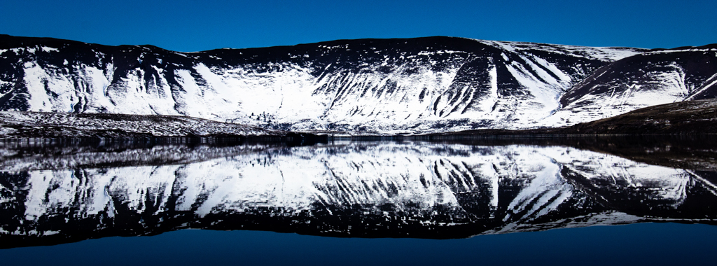 Lago frente a Caviahue