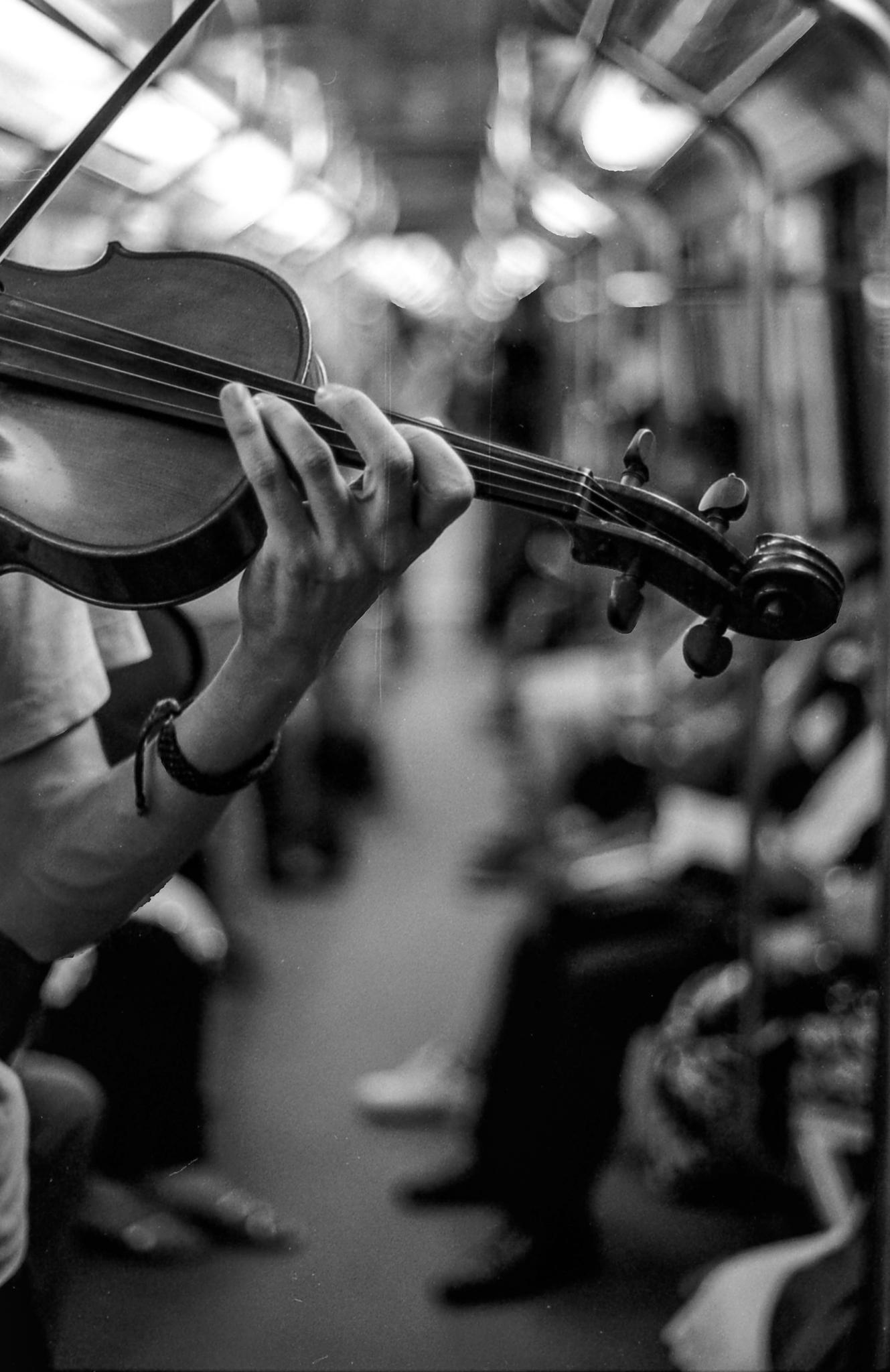 Música en el subte
