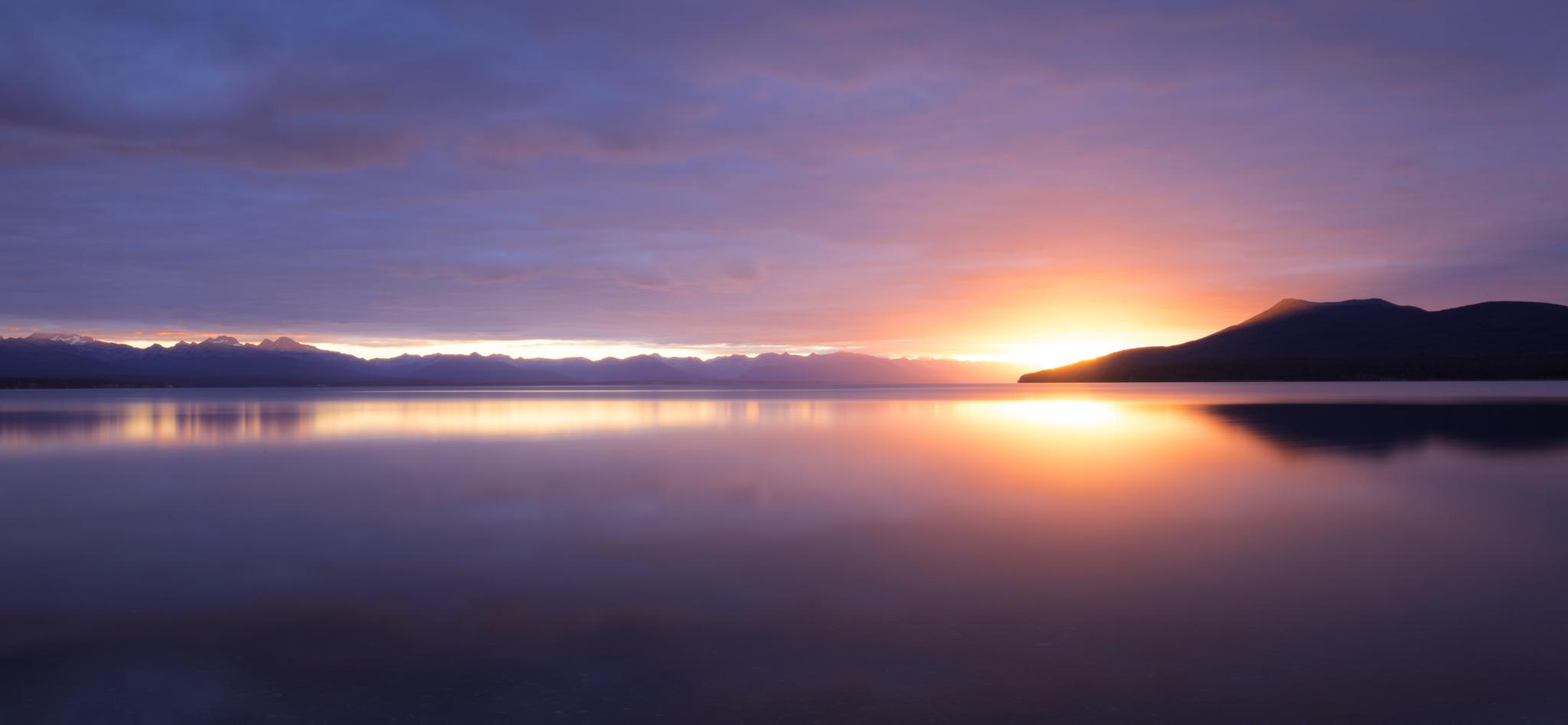 Atardecer en Tierra del Fuego