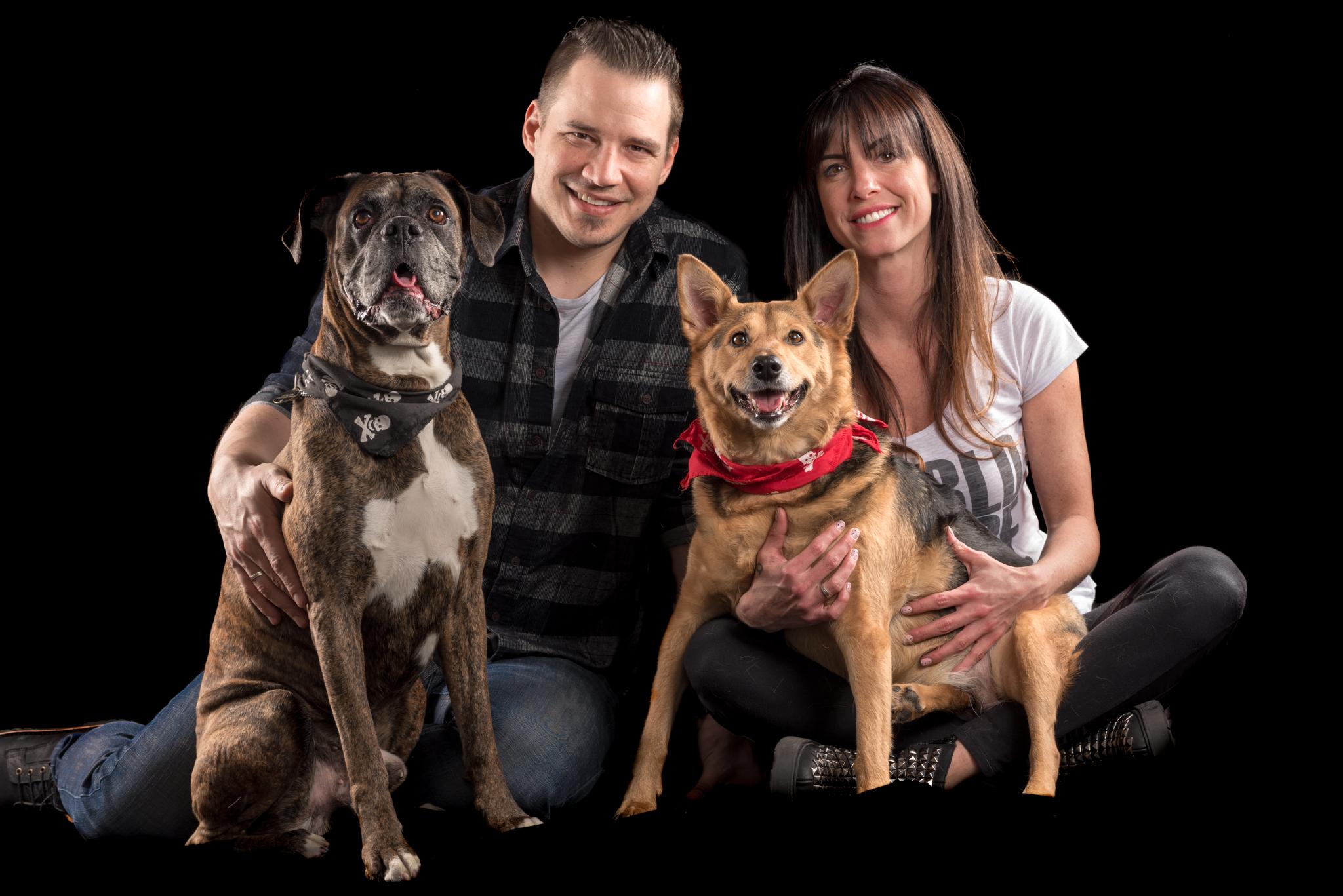 Simón, Margarita y su familia