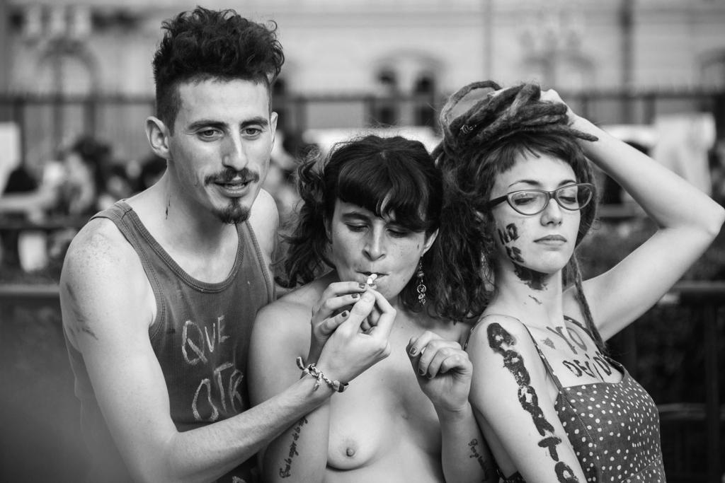 La marcha de las putas. 2015