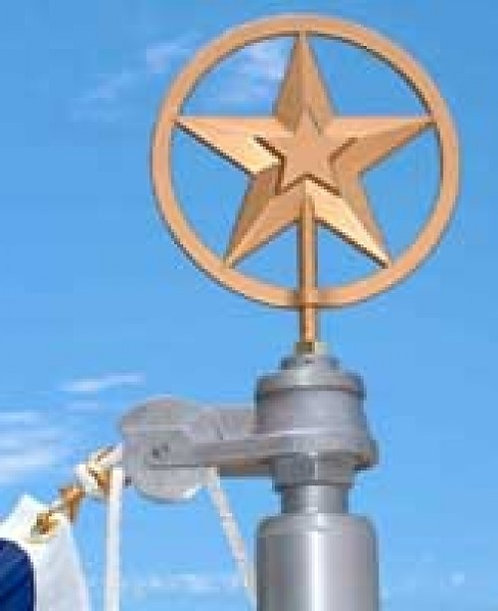 Texas Star Finials