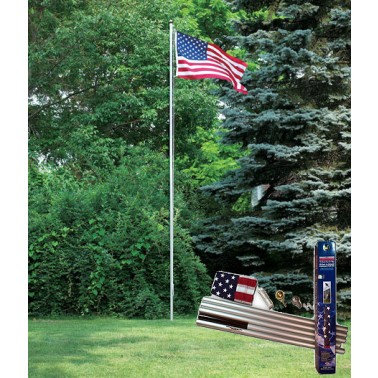 Sectional Flagpoles - Steel & Aluminum