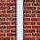 Thumbnail: Internal Halyard Vertical Wall Mount Aluminum Flagpoles