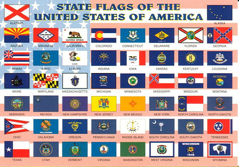 Other outdoor state flags