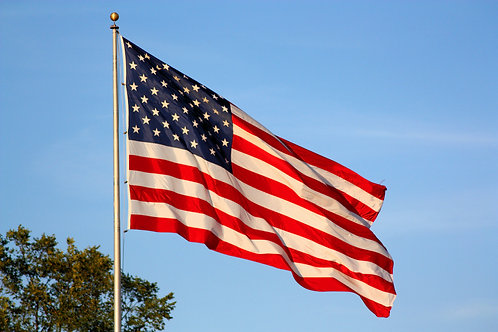 Outdoor United States Flags