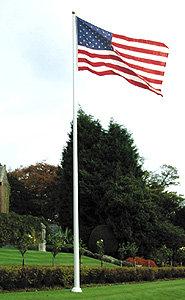 F-Line Fiberglass Flagpoles