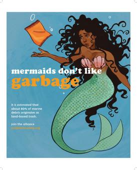 Mermaids Don't Like Garbage