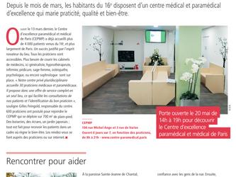 Paris 16 parle du CEPMP !