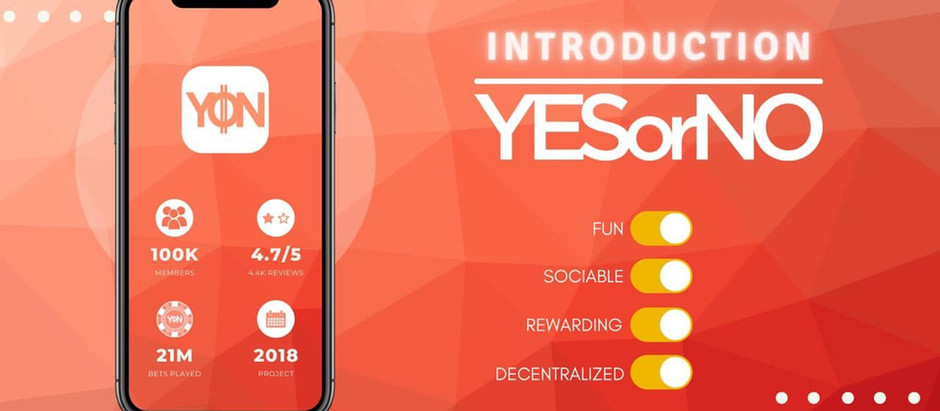 YESorNO, the decentralized micro-betting application arrives on the Blockchain!