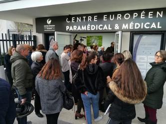 Très belle inauguration de notre centre de Rueil-Malmaison