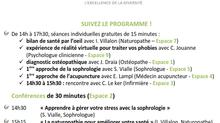 !!!SUCCES pour la 1ère Fête de la Santé des Voisins en France... dans notre Centre d'Antony!!!