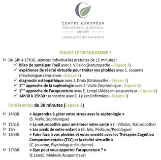 La 1ère Fête de la Santé des Voisins de France a lieu... chez nous !
