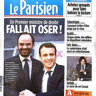 A la Une en France, il y a Macron... et le CEPMP !