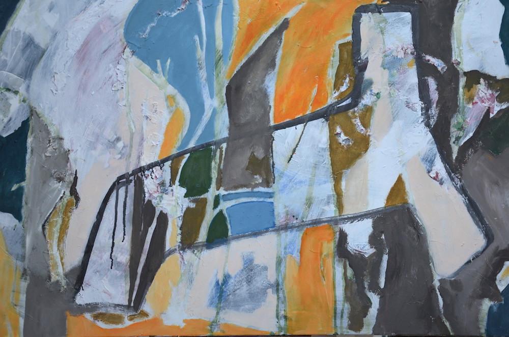 stoel 75X115 acryl
