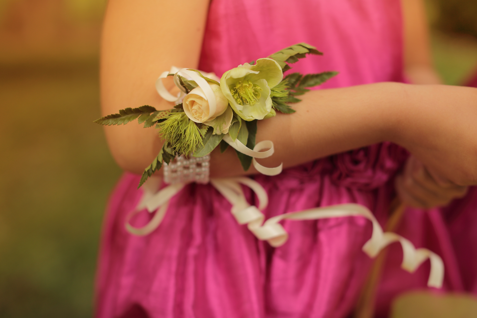 Flower girl corsage