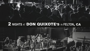 Happy New Year! Two Nights at Don Quixote's Jan 9th & 10th