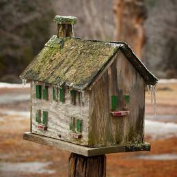 Birdhouse by the Barn